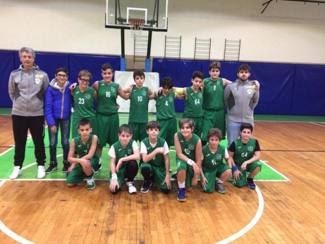 Sesta vittoria per la U13 della Vito Lepore.