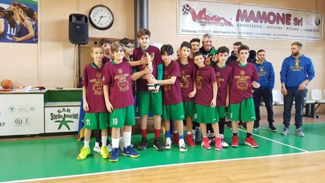 La Vito Lepore vittoriosa al torneo MARE DI ROMA TROPHY 2019