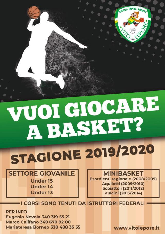 Vuoi giocare a Basket?